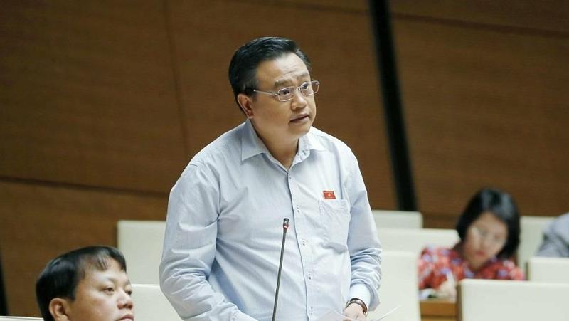 Ông Trần Sỹ Thanh giữ chức Tổng Kiểm toán Nhà nước với 462/462 đại biểu Quốc hội tham gia biểu quyết tán thành. Ảnh: VGP/Nhật Nam