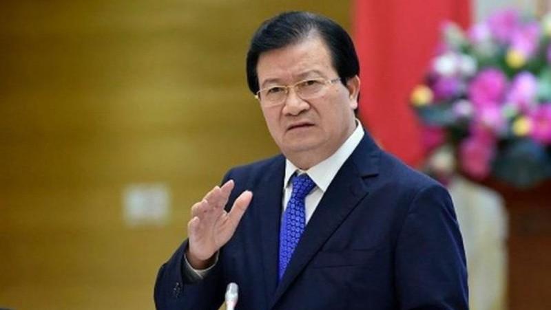 Trình miễn nhiệm Phó Thủ tướng Trịnh Đình Dũng và một số Bộ trưởng, thành viên Chính phủ