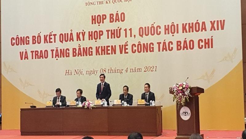 Kỳ họp thứ 11 Quốc hội khoá XIV: Bảo đảm dân chủ trong kiện toàn bộ máy nhà nước