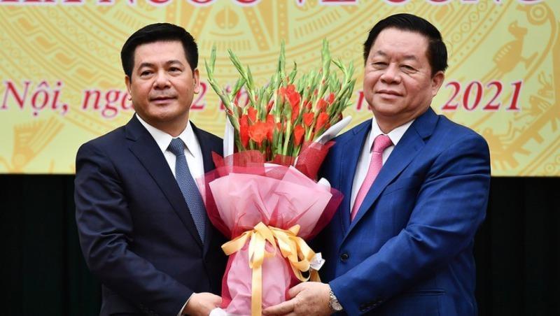Công bố quyết định Bí thư Ban Cán sự Đảng, Bộ trưởng Bộ Công Thương