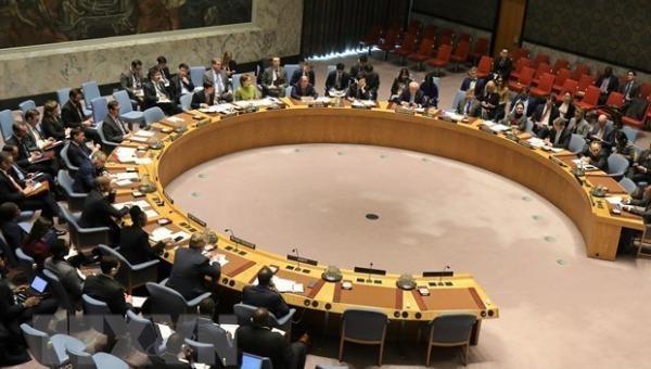 Một phiên họp của Hội đồng bảo an Liên hợp quốc. Ảnh: AFP/TTXVN