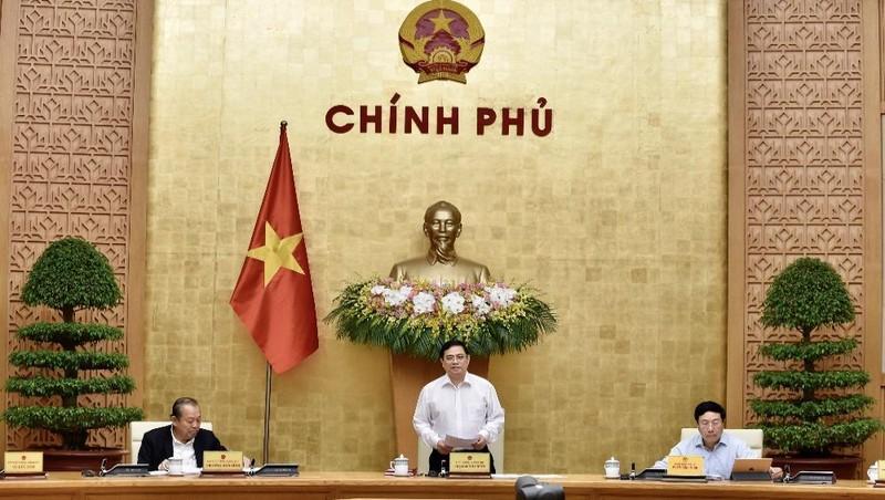 Phiên họp Chính phủ sau kiện toàn nhân sự tại kỳ họp thứ 11 Quốc hội khóa XIV