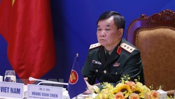 Thượng tướng Hoàng Xuân Chiến, Thứ trưởng Bộ Quốc phòng. Ảnh: Dương Giang/TTXVN