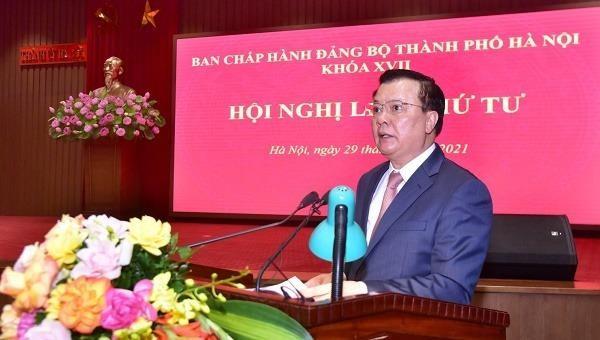Thành uỷ Hà Nội xây dựng Nghị quyết chuyên đề đầu tiên về công tác cán bộ