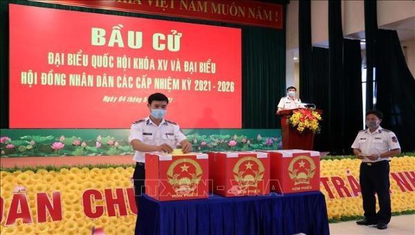 Bà Rịa-Vũng Tàu tổ chức bầu cử sớm cho cử tri công tác dài ngày trên biển
