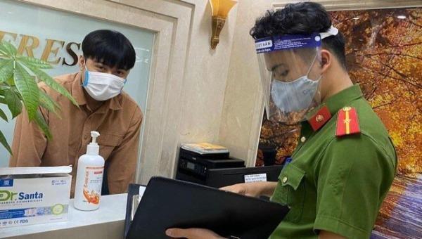Phát hiện 1 người nhập cảnh trái phép tại chung cư ở Hà Nội