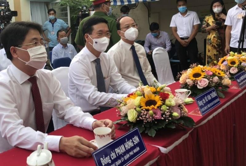 Tổng Bí thư Nguyễn Phú Trọng đã đến khu vực bỏ phiếu