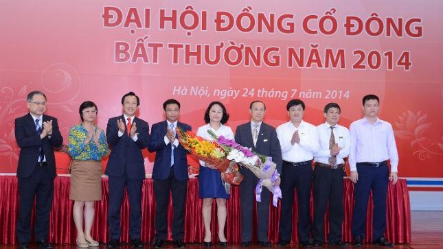 Đại hội cổ đông bất thường của ngân hàng Vietinbank bầu 3 đại diện HĐQT