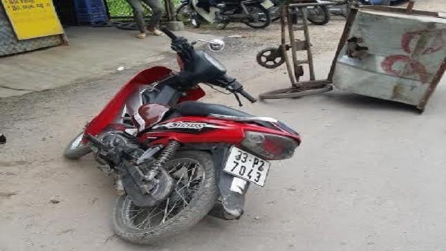 Thai nhi 36 tuần tuổi chết oan vì mẹ bị xe máy đâm