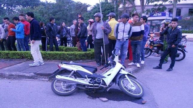 Bắc Ninh: Bị Cảnh sát Trật tự truy đuổi, một người bị thương