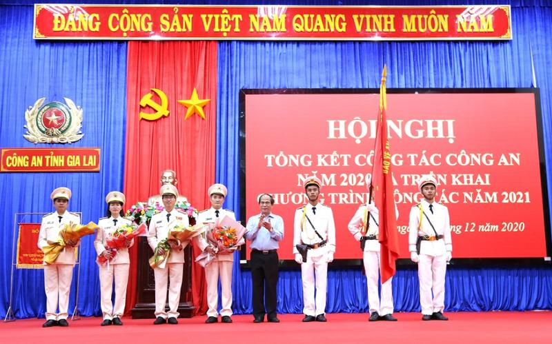 Công an tỉnh Gia Lai quyết tâm bảo vệ an toàn tuyệt đối các sự kiện chính trị quan trọng trong năm 2021