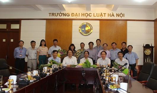 Tri ân thương binh, thân nhân liệt sĩ Đại học Luật Hà Nội