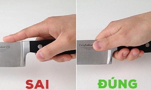 Học cách cầm dao đúng kiểu đầu bếp 'xịn'
