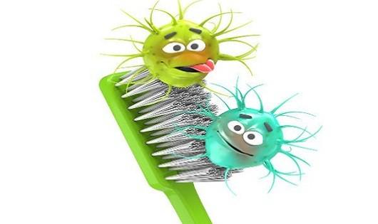 Đừng chủ quan với nguy cơ nhiễm bệnh từ bàn chải đánh răng