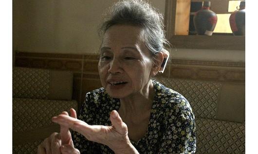 Bà Tạ Thị Ngọc Thanh không ngùng cống hiến sức mình dù đã ở tuổi 75