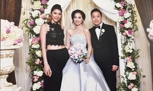 Hình ảnh đám cưới tại Mỹ được Ngọc Quyên chia sẻ trên trang cá nhân. ẢNh FBNQ