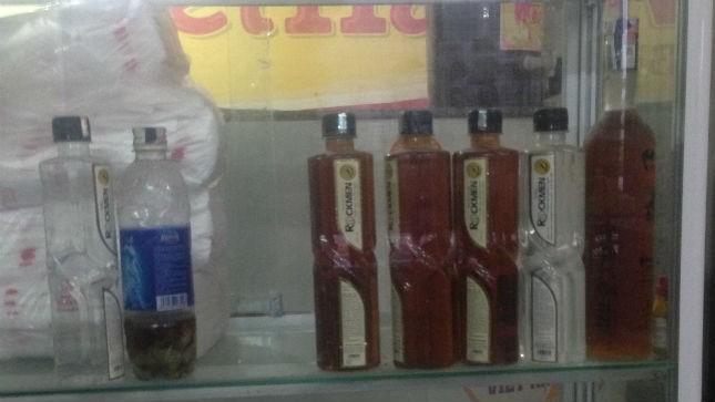 Cả hai sản phẩm Rockmen (1 loại 33 độ rượu và một loại 12 độ ngâm dược liệu) của Công ty Sao Thái Dương) vẫn được lưu hành trên thị trường gây hiểu lầm cho NTD