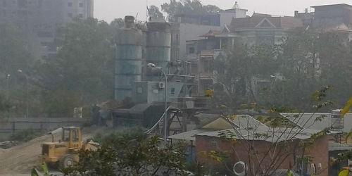 Hà Nội: Bụi bẩn, tiếng ồn tấn công khu dân cư