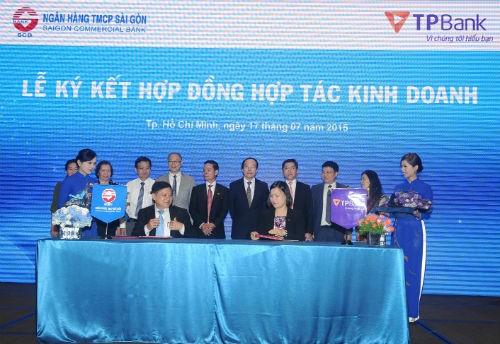TPBank và SCB ký kết triển khai Dịch vụ Thu hộ tiền mặt
