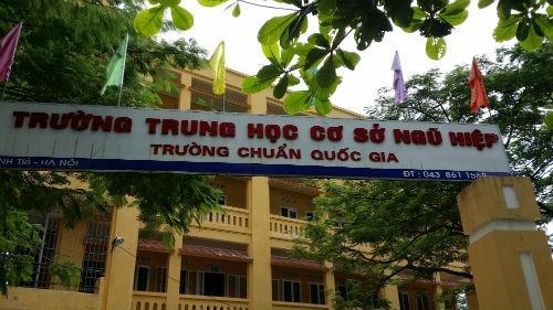 Thanh Trì (Hà Nội): Bị tố vi phạm trong quản lý giáo dục, Hiệu trưởng lên tiếng