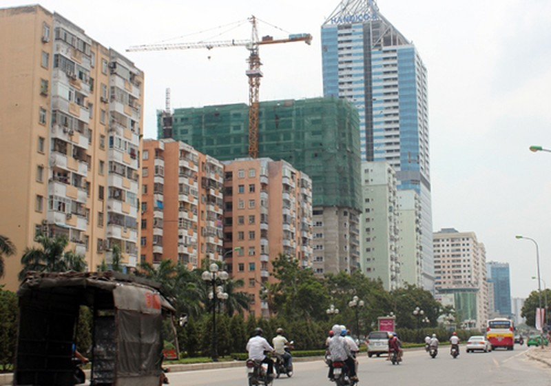 Các căn hộ tầm trung cũng lọt vào tầm ngắm của những nhà đầu tư mua căn hộ cho thuê. Ảnh: N.T