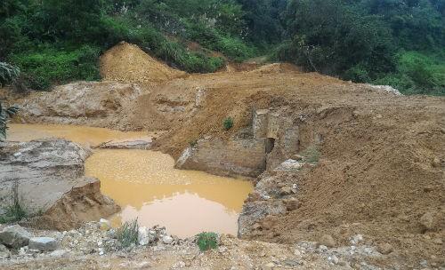 Báo cáo đánh giá tác động môi trường của Cty Cổ phần khoáng sản Hùng Vương