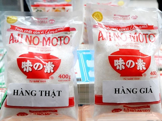 """Phát hiện """"hang ổ"""" sản xuất bột ngọt Ajinomoto và Miwon giả"""
