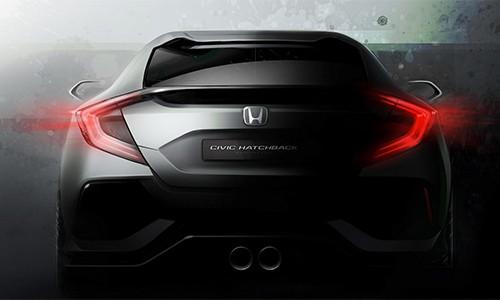 Lộ diện Honda Civic 2016 bản hatchback