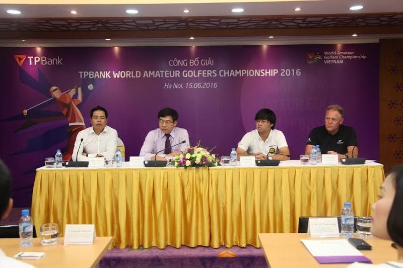 "Khởi động giải ""TPBank World Amateur Golfers Championship 2016"""