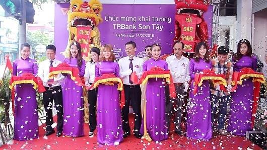 TPBank khai trương điểm giao dịch mới tại thị xã Sơn Tây
