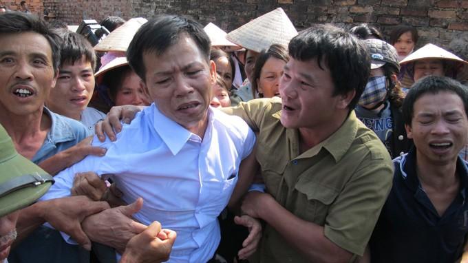 Ông Nguyễn Thanh Chấn, người chịu án oan 10 năm.