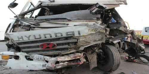 Tai nạn liên hoàn, ít nhất 8 người nhập viện