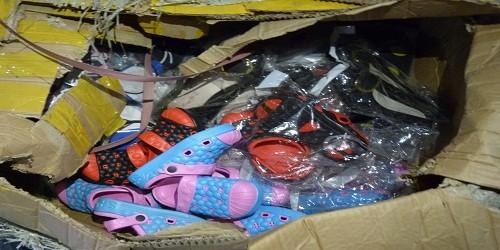 Phát hiện số lượng lớn hàng nhập lậu được tuồn về Hà Nội