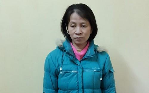 Đối tượng bị bắt giữ (ảnh: Dân Việt)