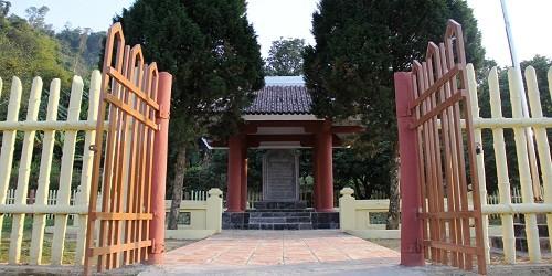 Di tích đồn Nà Ngần, xã Hoa Thám, huyện Nguyên Bình, tỉnh Cao Bằng.
