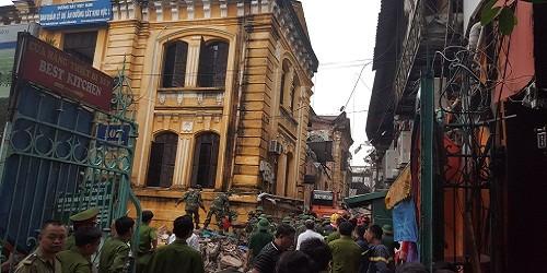 Vụ sập khu nhà cổ số 107 Trần Hưng Đạo: Thêm 1 nạn nhân tử vong