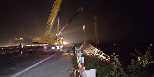 Xác định nạn nhân tử vong trong vụ tai nạn Pháp Vân