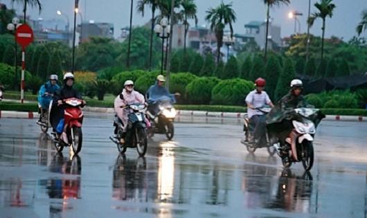 Miền Bắc tiếp tục mưa, thời tiết mát mẻ đến cuối tuần