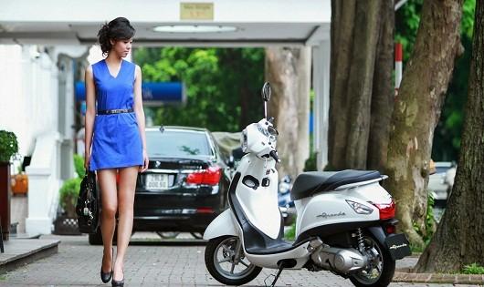 Những mẫu xe tay ga vừa tiền dành cho phụ nữ