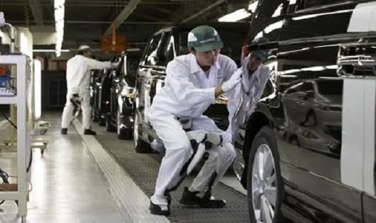 Thị trường ôtô Nhật Bản giảm sút trong tháng qua