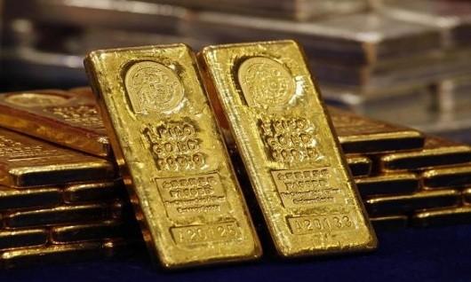 Giá vàng hướng đến đỉnh 2 tuần