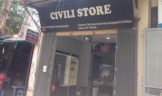 Chuỗi hệ thống Civili Store bán hàng giả