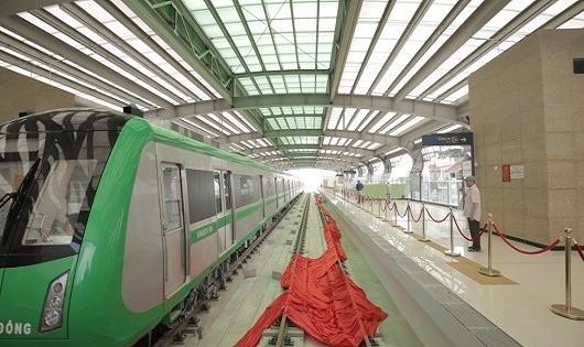 Đường sắt trên cao Cát Linh – Hà Đông bị rỉ sét, Ban Quản lý nói gì?