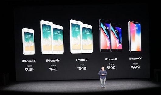 Apple kích cầu bằng cách giảm giá iphone X
