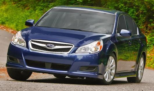 Xe Subaru sẽ được triệu hồi để khắc phục lỗi túi khí