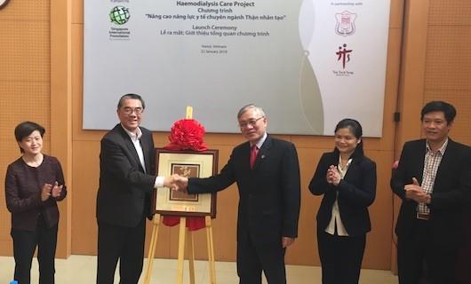 Y tế Singapore và Việt Nam hợp tác nâng cao năng lực chuyên ngành Thận nhân tạo
