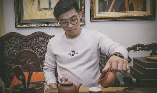 Chàng trai trẻ trên con đường khôi phục trà cổ Việt Nam