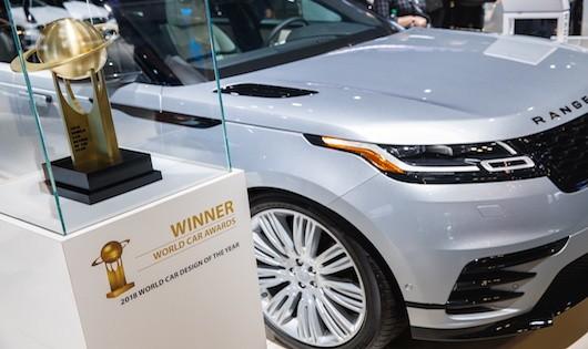 Range Rover Velar được vinh danh mẫu xe thiết kế đẹp nhất