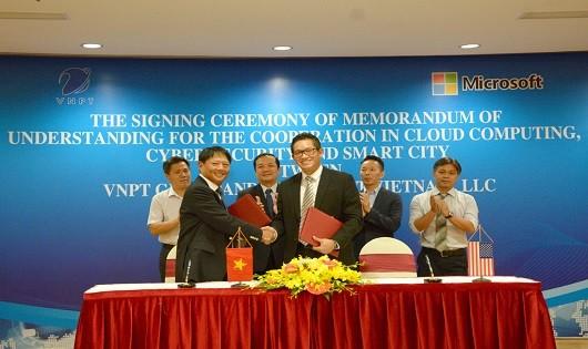 VNPT và Microsoft sẽ cùng triển khai xây dựng Thành phố thông minh dựa trên nền tảng của Microsoft CityNext tại các tỉnh thành của Việt Nam.
