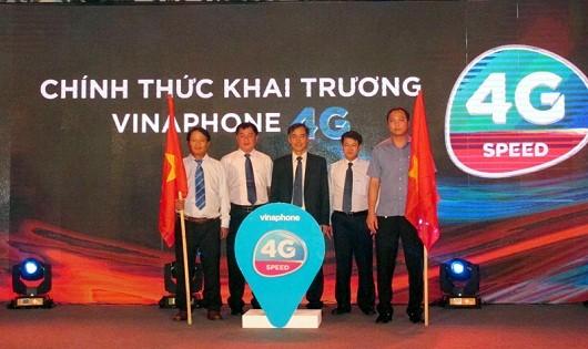 5 ngày sau khi nhận giấy phép, VinaPhone chính thức cung cấp dịch vụ 4G